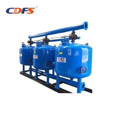 Plant Reuse Sand Media Filter , Long Life Automatic Backwash Water Filters