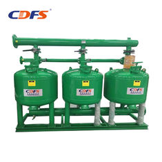 Industrial Automatic Sand Filter 6 - 228 M3 / H Back Washing Flow DMF Models