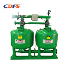 Wastewater Treatment Automatic Sand Filter 2 - 8 Bar Working Pressure Green Color