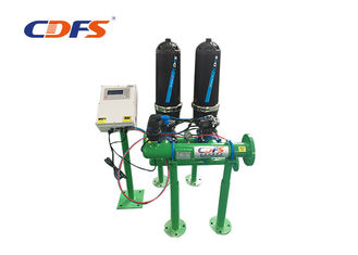 Agricultural Irrigation Automatic Backwash Disc Filter For River Water