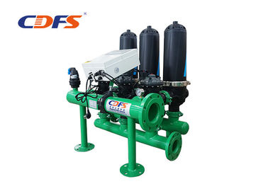Auto Backwash Agriculture Irrigation System Disc Filter For Farm High Flow