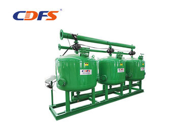 China Industrial Automatic Sand Filter Wastewater Treatment / Cooling Water Recycle supplier