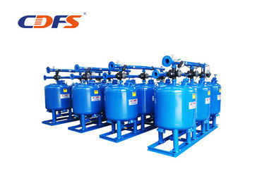 Suspended Solids Multimedia Sand Filter , 5 Microns Multimedia Filters Water Treatment
