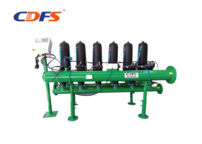 130 Microns Automatic Backwash Water Filters , 85 ℃ Backwash