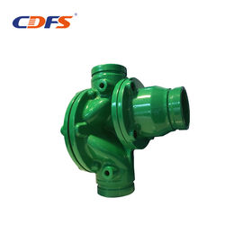 China Green Push Pull Backwash Valve 3 Inch Size For Disc Filter Fast Opening Time factory