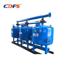 China Plant Reuse Sand Media Filter , Long Life Automatic Backwash Water Filters  factory