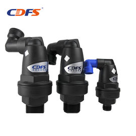 Black Automatic Backwash Valve , 2 - 8bar Swimming Pool Backwash Valve