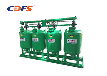 China 220V / 50hz Industrial Sand Filter , Automatic Water Filter CE Approval factory