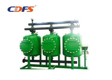 China DP / Time Control Automatic Sand Filter 4 / 6 / 8mm Tank Thickness Multi Vessels factory