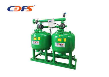 6 - 2000 M3 / H Flow Automatic Sand Filter With 220V / 110V / Battery Power