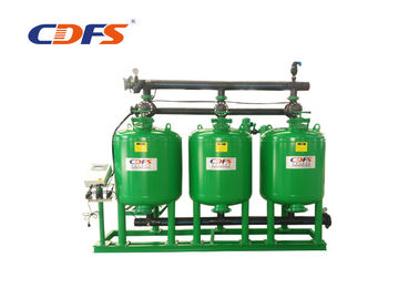 Automatic Sand Media Filter , 24 - 48 Inch Tank Sand Filtration System