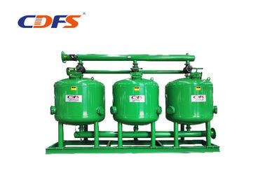 DP / Time Control Irrigation Sand Filter 30 - 400 M³ / H Flow Rate Automatic