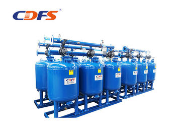 China DP / Time Sand Media Filter 10 - 200 Sec Backwash Time For Industrial Process Water factory