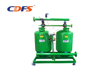 10 - 200 Sec Multimedia Sand Filter , Stainless Steel Continuous Sand Filter