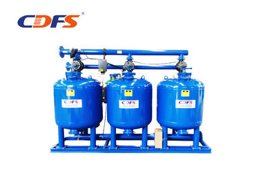 220V / 50hz Multimedia Sand Filter , Blue DP / Time Fast Sand Filter Automatic