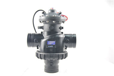 China Electromagnetic Pool Backflow Valve , Small Auto Pool Filter Control Valve  factory