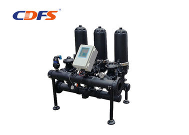 Low Pressure Automatic Disc Filter For Workshop Water Irrigation 2-10 Bar